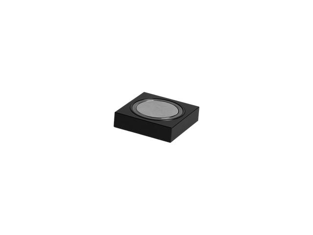 Base magnetica per lampade a LED a base rettangolare, 80x63x15mm