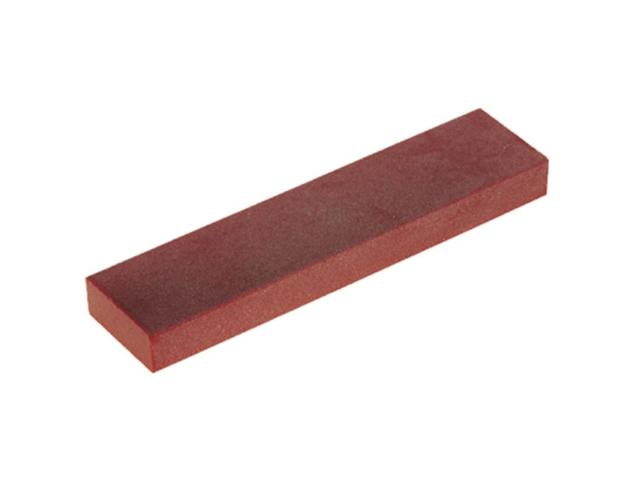 Pietra di rubino 120x50x9,5mm, Grana combinata media e fine