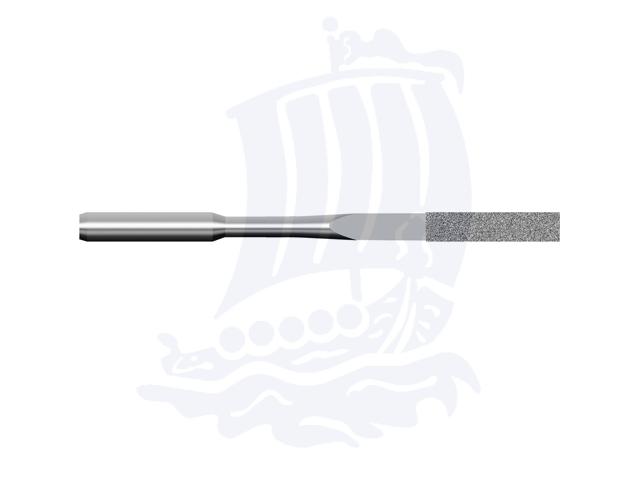 Lima diamantata DLA-3X1S-D151, 3x1mm - Gambo d. 3mm