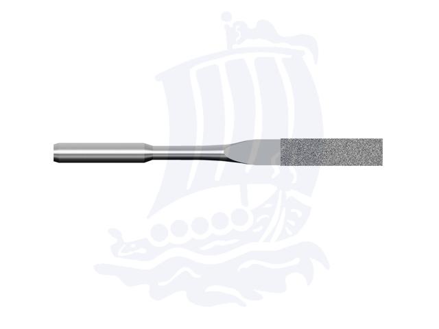 Lima diamantata DLA-4X1S-D151, 4x1mm - Gambo d. 3mm