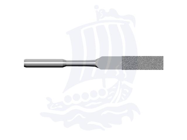 Lima diamantata DLA-5X2-D151, 5x2mm - Gambo d. 3mm
