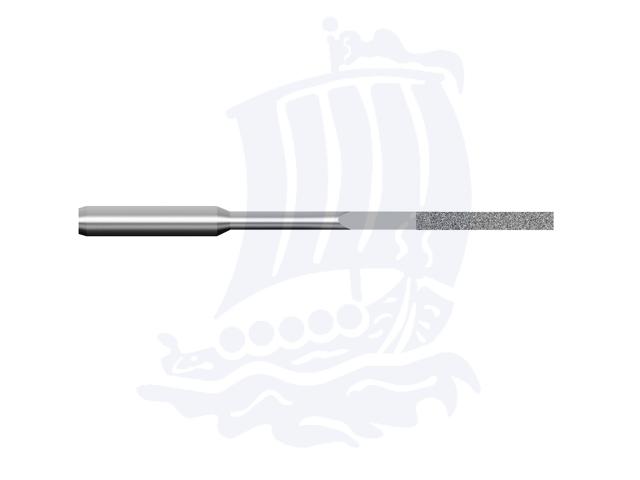 Lima diamantata DLA-0.5X4-D151, 0,5x4mm - Gambo d. 3mm