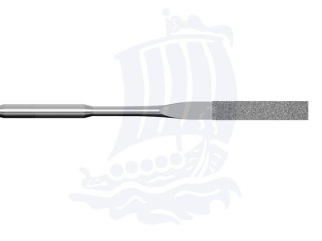 Lima diamantata DLA-1X4-D151, 1x4mm - Gambo d. 3mm