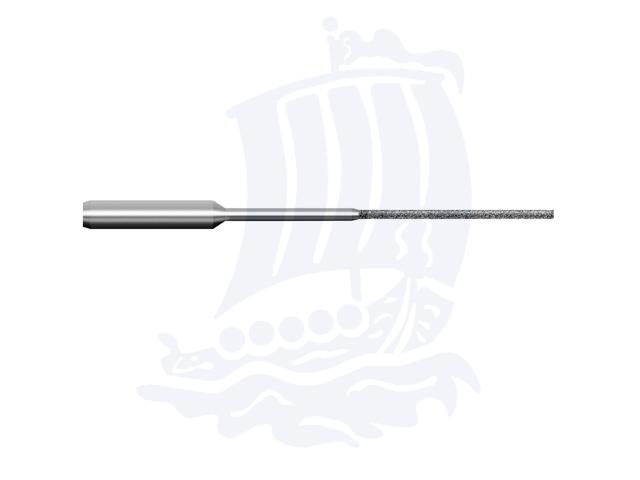 Lima diamantata DLA-1-D151, d. 1mm - Gambo d. 3mm
