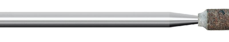 Mola in gomma, d. 6x10mm, Grana 60, cilindrica - Gambo d. 3mm - Conf. 10pz.
