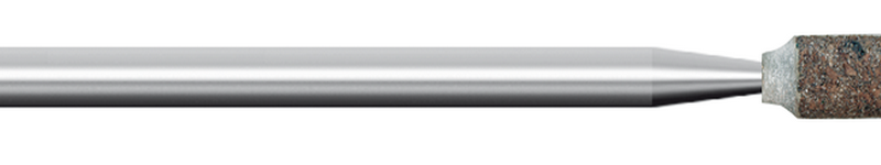 Mola in gomma, d. 6x10mm, Grana 120, cilindrica - Gambo d. 3mm - Conf. 10pz.