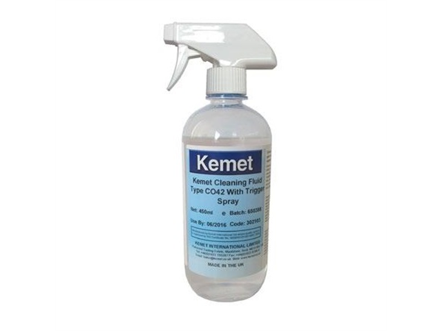 Cleaning fluid kemet CO-42 - 450 ml - Con nebulizzatore