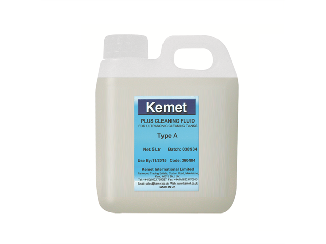 Cleaning fluid A per Kemesonic per materiale ferroso - 5lt