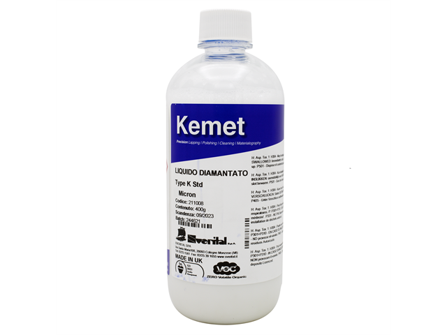 Liquido diamantato K 14, concentrazione standard, 400gr (netti) - Bottiglia