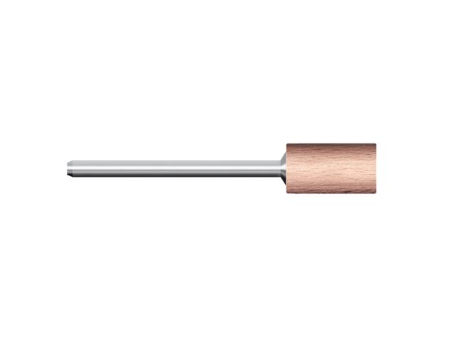 Legno rotativo duro, d. 12x25mm, cilindrico - Gambo d. 3mm - Conf. 10pz.