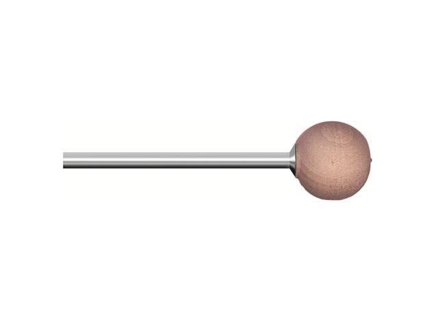 Legno rotativo duro, d. 10mm, faggio, sfera - Gambo d. 3mm - Conf. 10pz.
