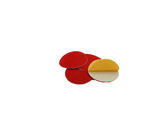 Disco panno in fibra d. 48x1mm adesivo - Conf. 10pz.