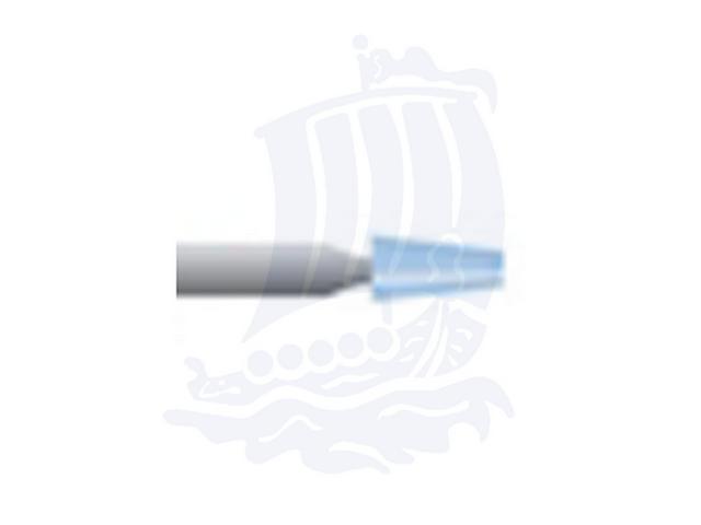 Mola azzurra d. 3,1x6,3 lung. 38mm B96-Mesh, Grana 120 - Gambo d. 3mm - Conf. 12pz.