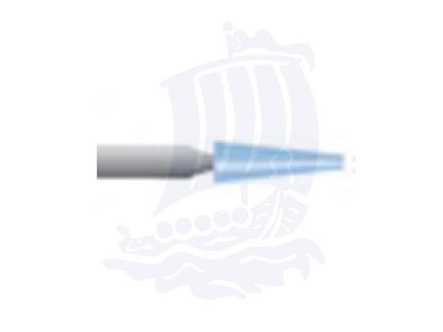 Mola azzurra d. 2,4x9,3 lung. 38mm B97-Mesh, Grana 120 - Gambo d. 3mm - Conf. 12pz.
