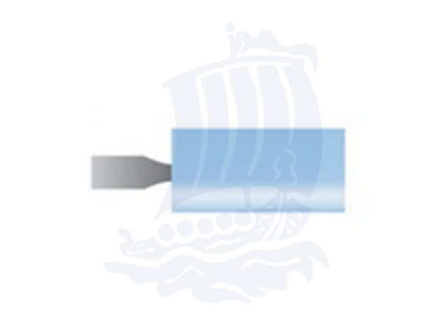 Mola azzurra d. 6,3x12,7 lung. 38mm B163-Mesh, Grana 120 - Gambo d. 3mm - Conf. 12pz.