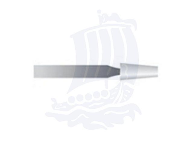 Mola bianca d. 3,1x7,1 lung. 38mm 26P-Mesh, Grana 400 - Gambo d. 2,35mm - Conf. 12pz.