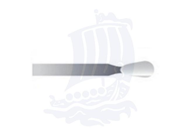 Mola bianca d. 3,1x6,4 lung. 38mm 44P-Mesh, Grana 400 - Gambo d. 2,35mm - Conf. 12pz.