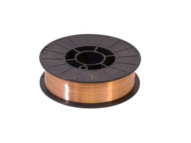 Filo di saldatura 252-C, d. 0,6mm, in bobina - Conf. 150gr