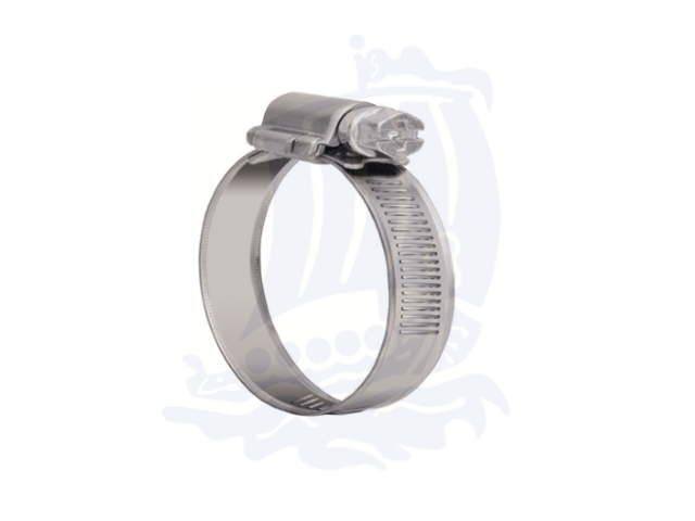 Fascette stringi tubo 11-17mm in acciaio inox - Conf. 10pz.