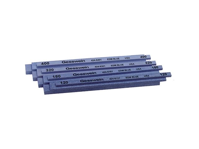 Assortimento pietre tipo EDM Blu, Grana 120 (4pz.) 180 (4pz.) 320 (4pz.) 400 (4pz.)