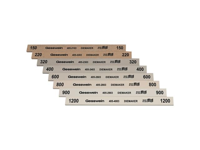 Assortimento pietre tipo Diemaker, Grana 220 (4pz.) 320 (4pz.) 400 (4pz.) 600 (4pz.)