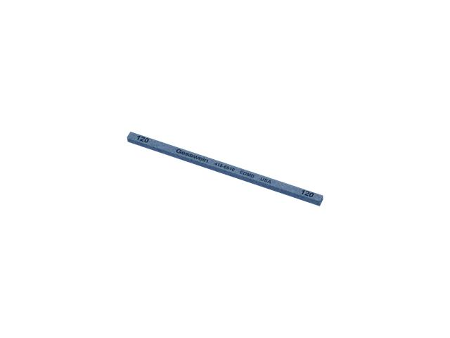 Pietra EDM Blu 4x4x100mm, Grana 120 - Quadrata