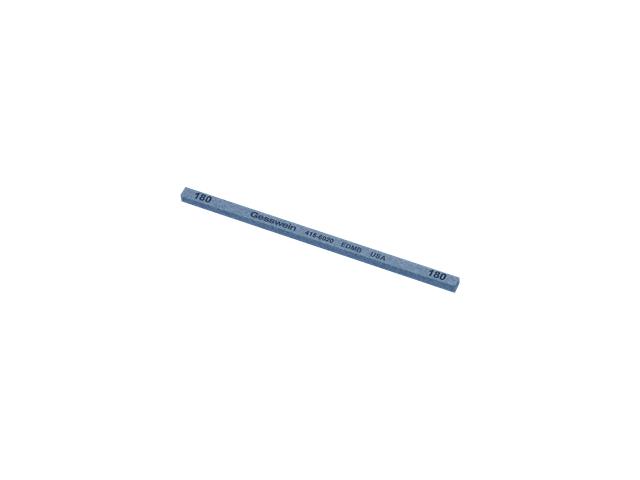 Pietra EDM Blu 4x4x100mm, Grana 180 - Quadrata