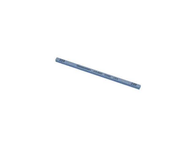 Pietra EDM Blu 4x4x100mm, Grana 220 - Quadrata
