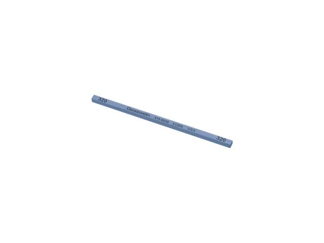 Pietra EDM Blu 4x4x100mm, Grana 320 - Quadrata