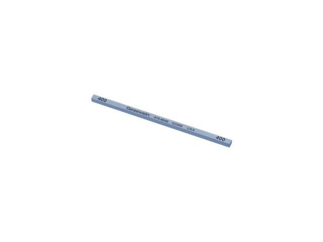 Pietra EDM Blu 4x4x100mm, Grana 400 - Quadrata