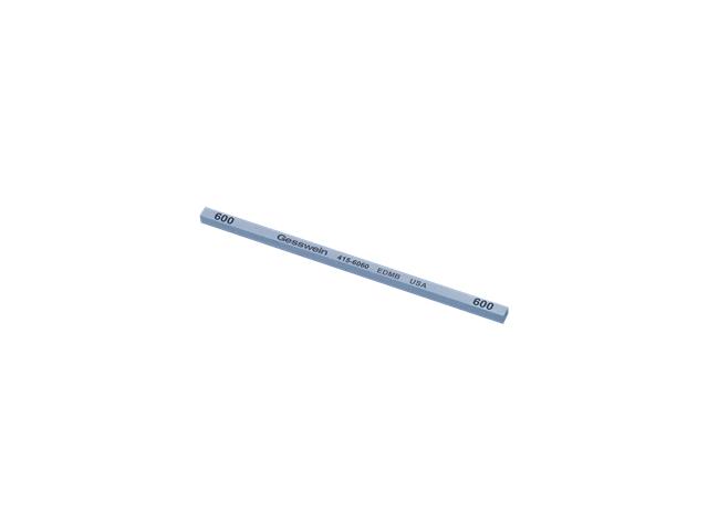 Pietra EDM Blu 4x4x100mm, Grana 600 - Quadrata