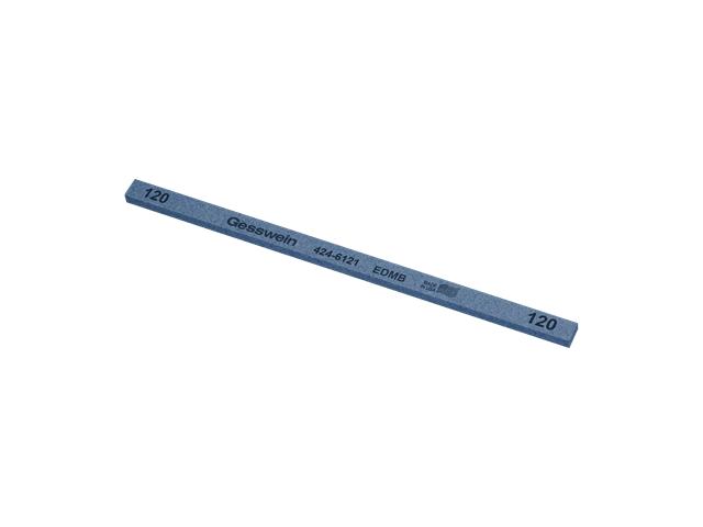 Pietra EDM Blu 6x3x150mm, Grana 120 - Rettangolare
