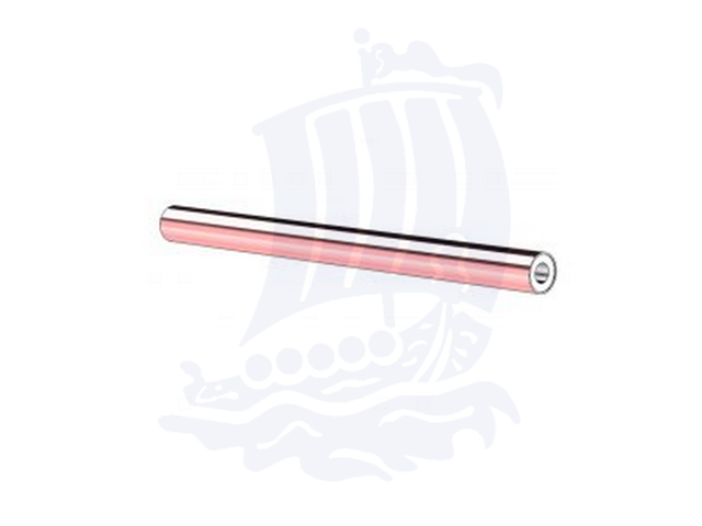 Tubo di trasferimento calore, d. 2,5x108mm, isopipe ad acqua, range temp. da +5°C a +250°C
