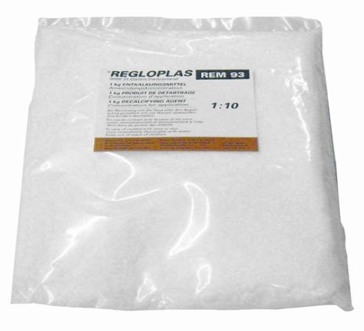 Polvere decalcificante REM 93 confezione 1Kg per REG